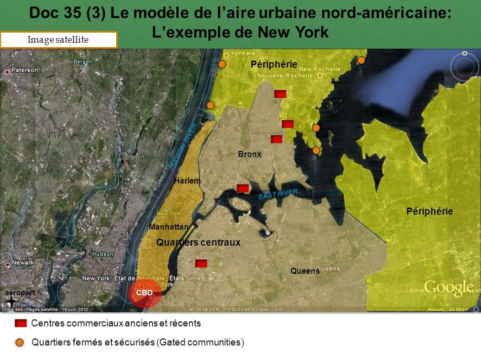 Doc 35 (3) Le modèle de l'aire urbaine nord-américaine: L'exemple de New York