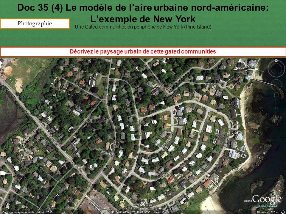 Décrivez le paysage urbain de cette gated communities