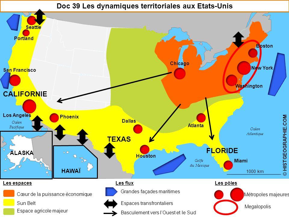 Doc 39 Les dynamiques territoriales aux Etats-Unis