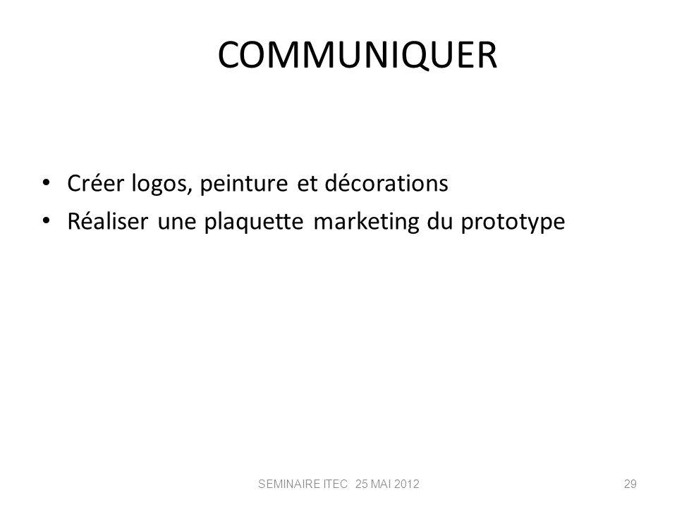 COMMUNIQUER Créer logos, peinture et décorations