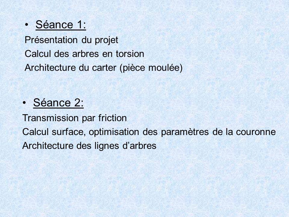 Séance 1: Séance 2: Présentation du projet