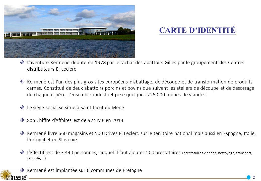 Carte D Identit L Aventure Kermen D Bute En 1978 Par Le Rachat Des Abattoirs Gilles Par Le