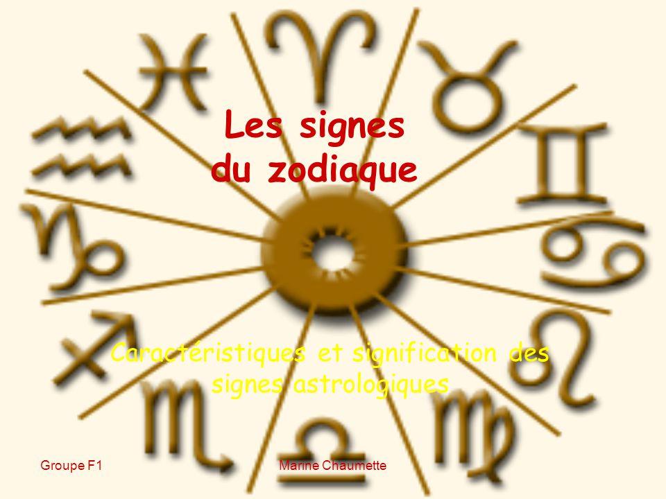 caract ristiques et signification des signes astrologiques ppt video online t l charger. Black Bedroom Furniture Sets. Home Design Ideas