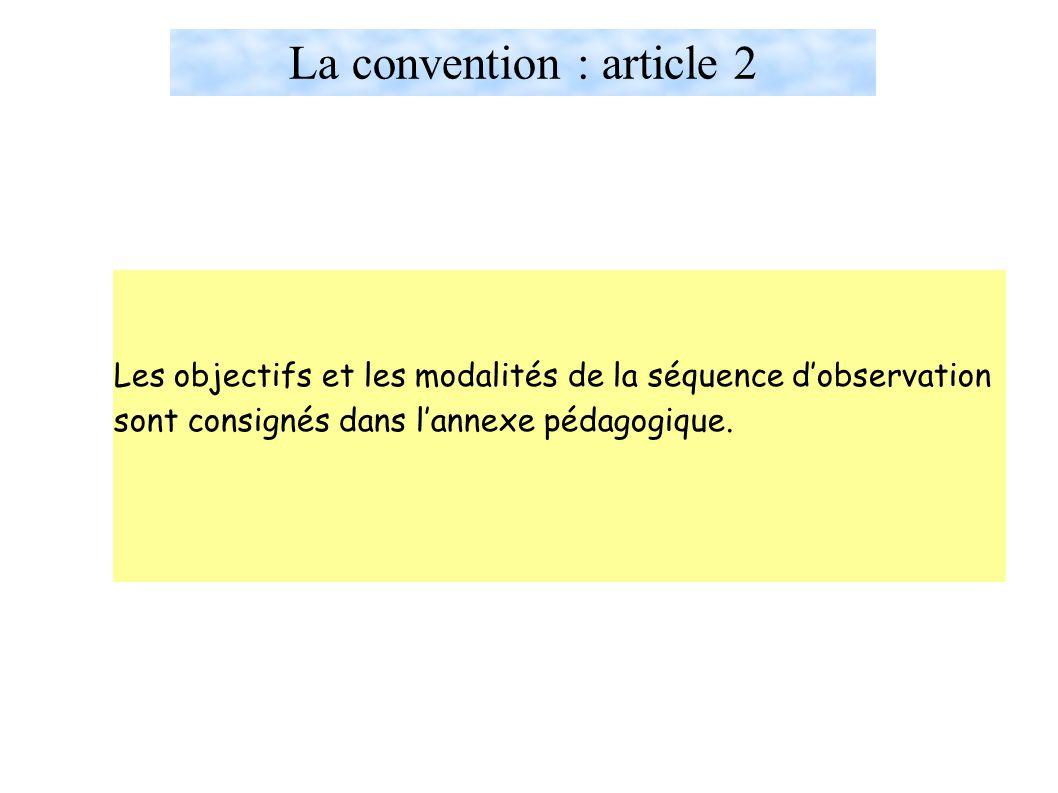 La convention : article 2