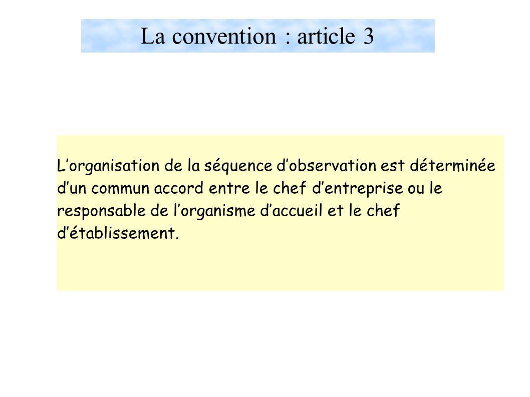 La convention : article 3