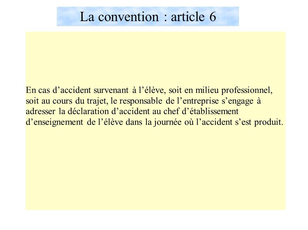 La convention : article 6