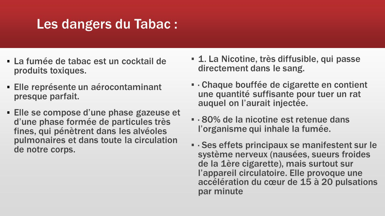 reportage au sujet du tabac ppt t l charger. Black Bedroom Furniture Sets. Home Design Ideas