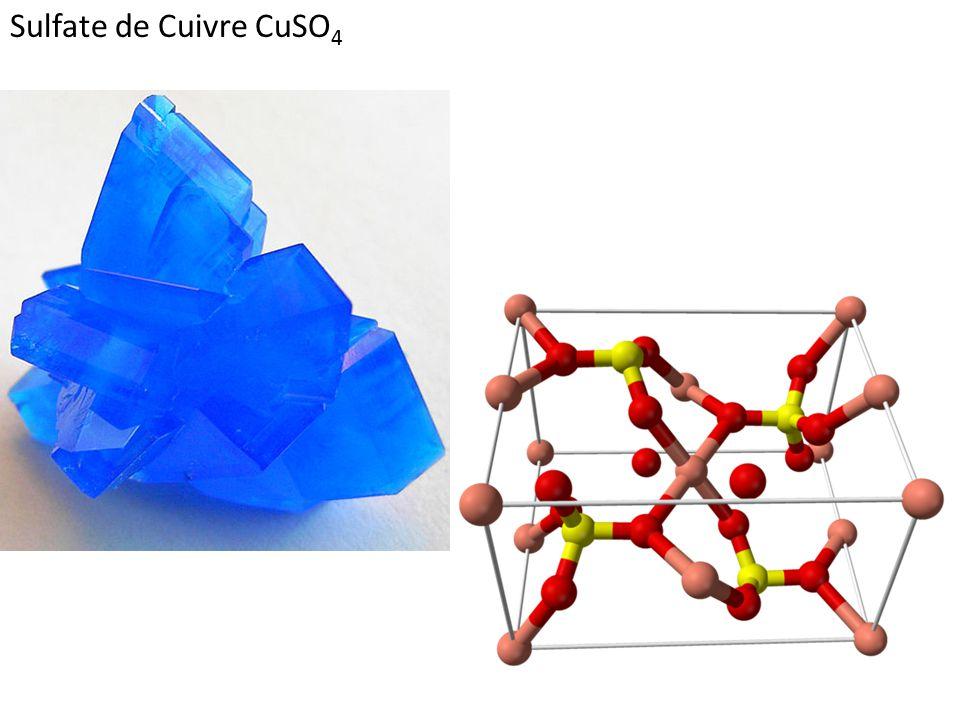 Sulfate de Cuivre CuSO4