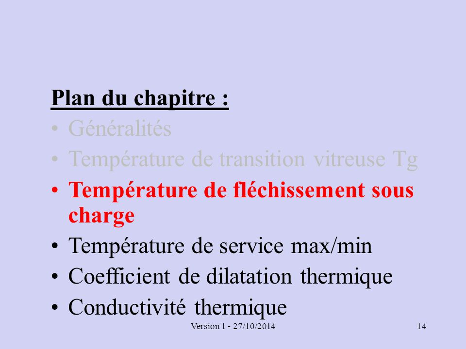 Chapitre 4 propri t s thermiques ppt t l charger - Coefficient thermique polystyrene ...