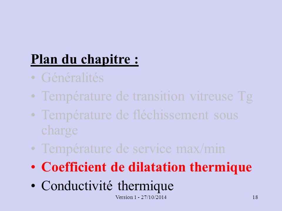 Chapitre 4 propri t s thermiques ppt t l charger - Coefficient de conductivite thermique ...