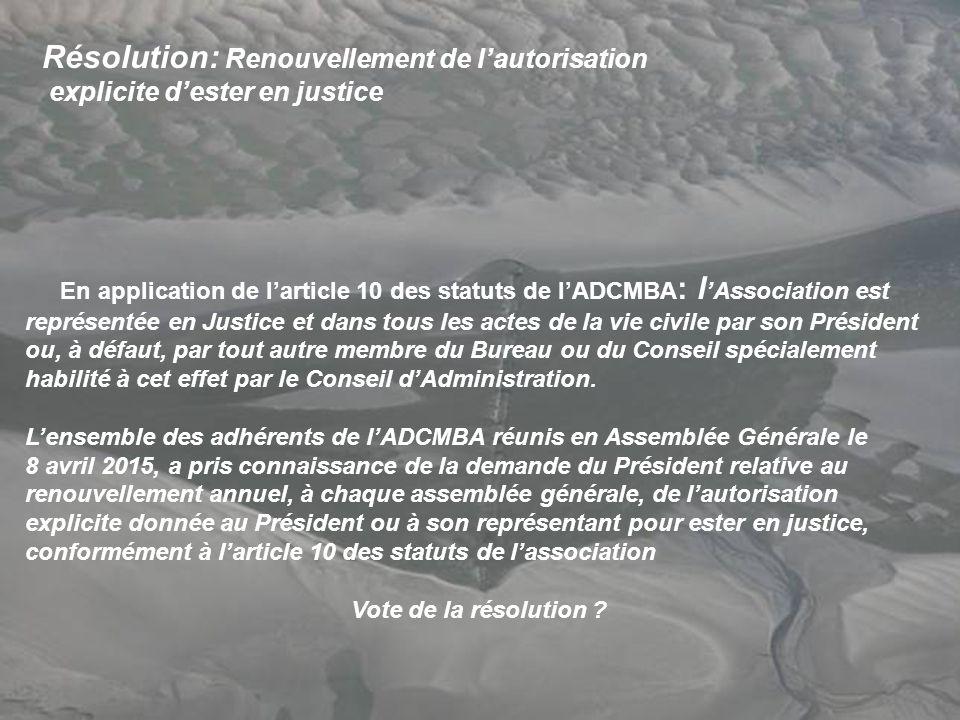 Association de d fense contre la mer en baie d authie - Assemblee generale association renouvellement bureau ...