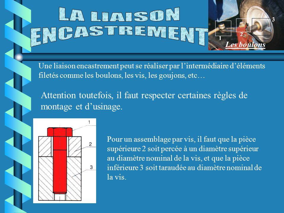 LA LIAISON ENCASTREMENT