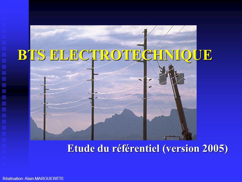 Etude du référentiel (version 2005)