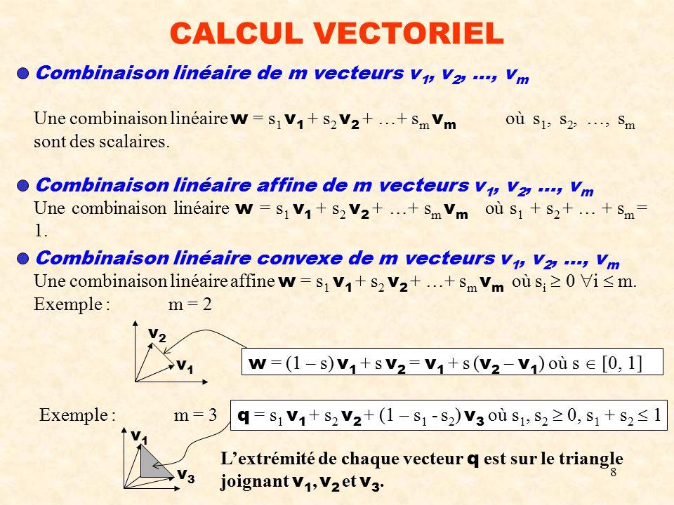 Chapitre iii calcul vectoriel ppt video online t l charger - Calcul metre lineaire ...