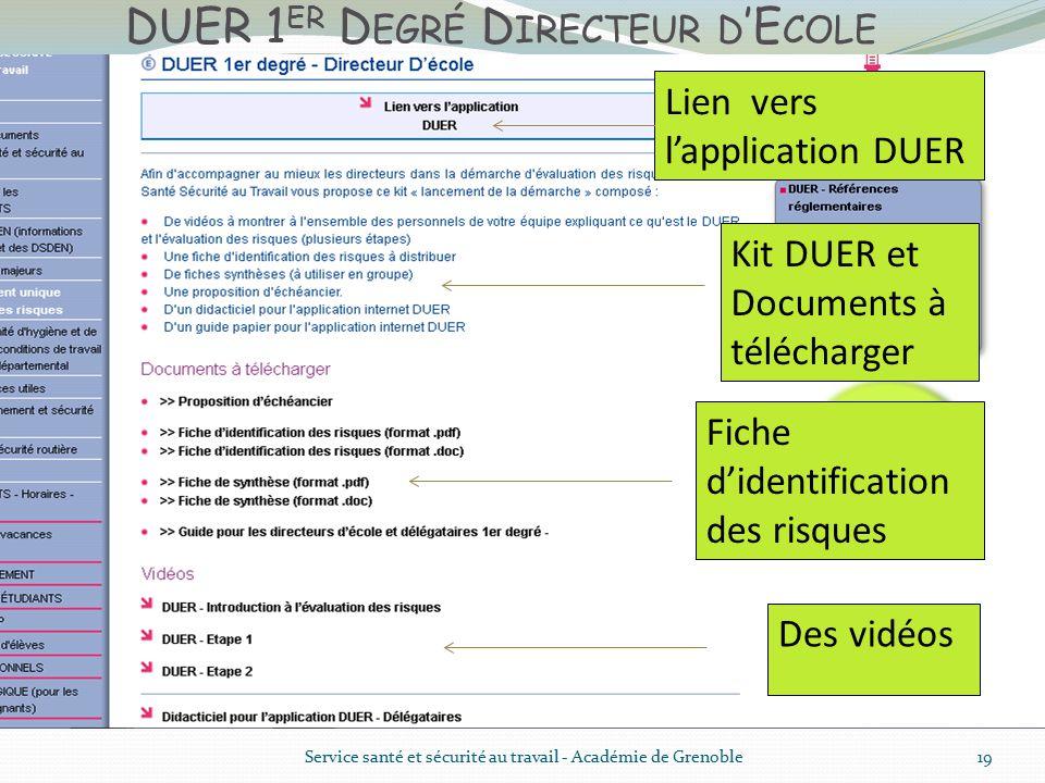 Formation directeur duer1 2 ppt t l charger - Grille d identification des risques psychosociaux au travail ...