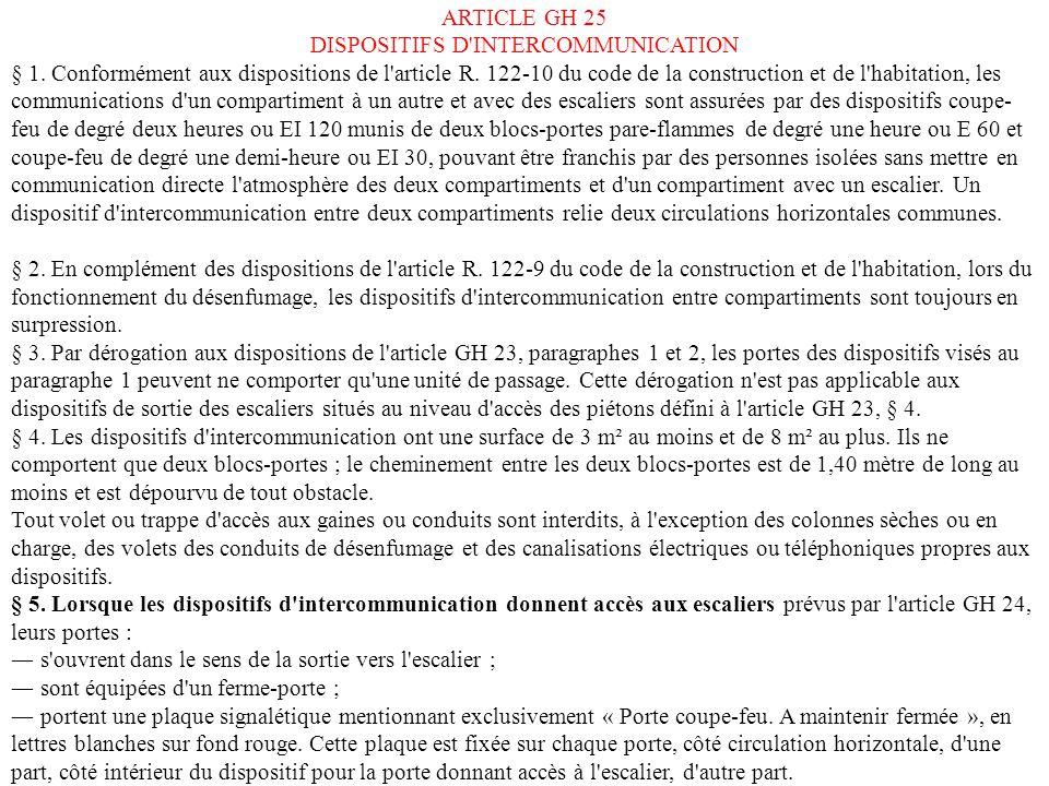 Cloisonnement d 39 isolation des risques ppt t l charger for Portent of passage 6