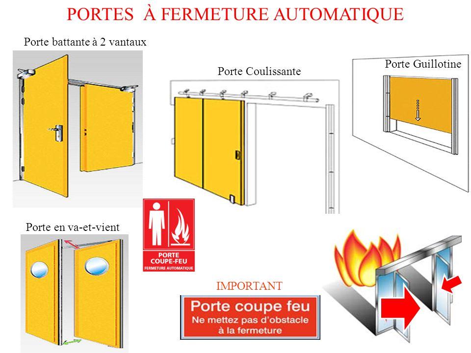 Cloisonnement d 39 isolation des risques ppt t l charger - Porte coupe feu 2 heures prix ...