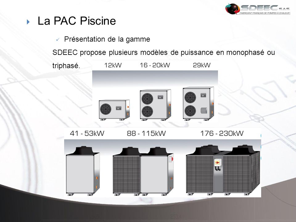 Pac p4s amarger yoan ppt t l charger for Puissance pac piscine