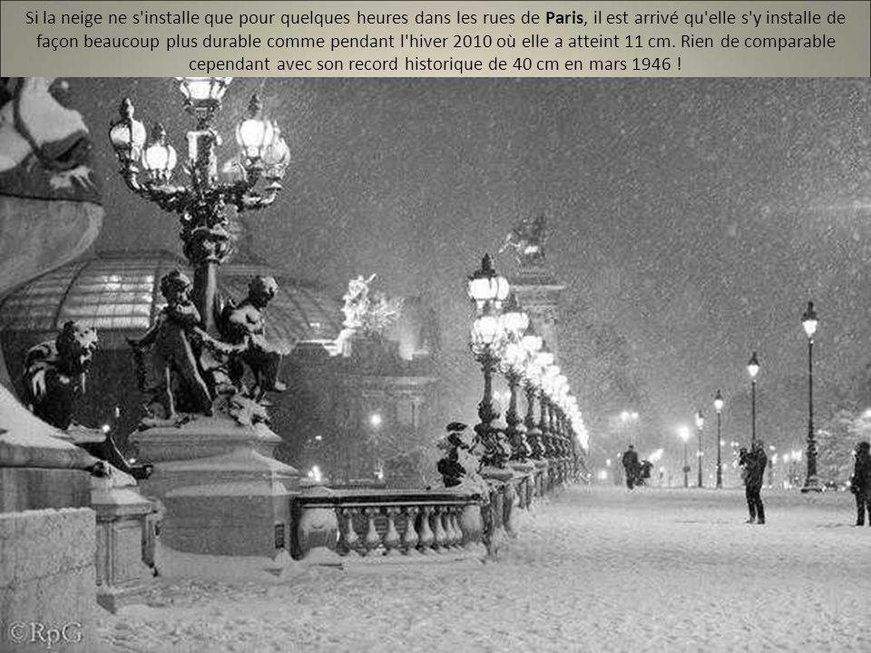 France sous la neige les plus belles photos ppt video for Hotel paris pour 2 heures