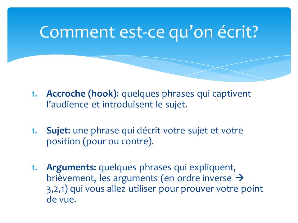 Phrase d'introduction pour site de rencontre
