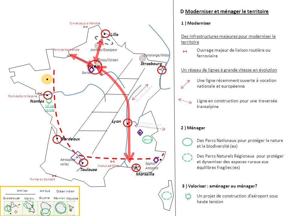 * D Moderniser et ménager le territoire 1 ) Moderniser Lille