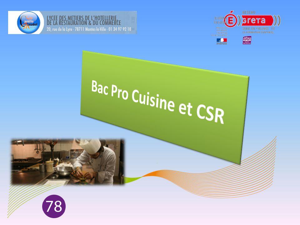 bac pro cuisine et csr ppt t 233 l 233 charger
