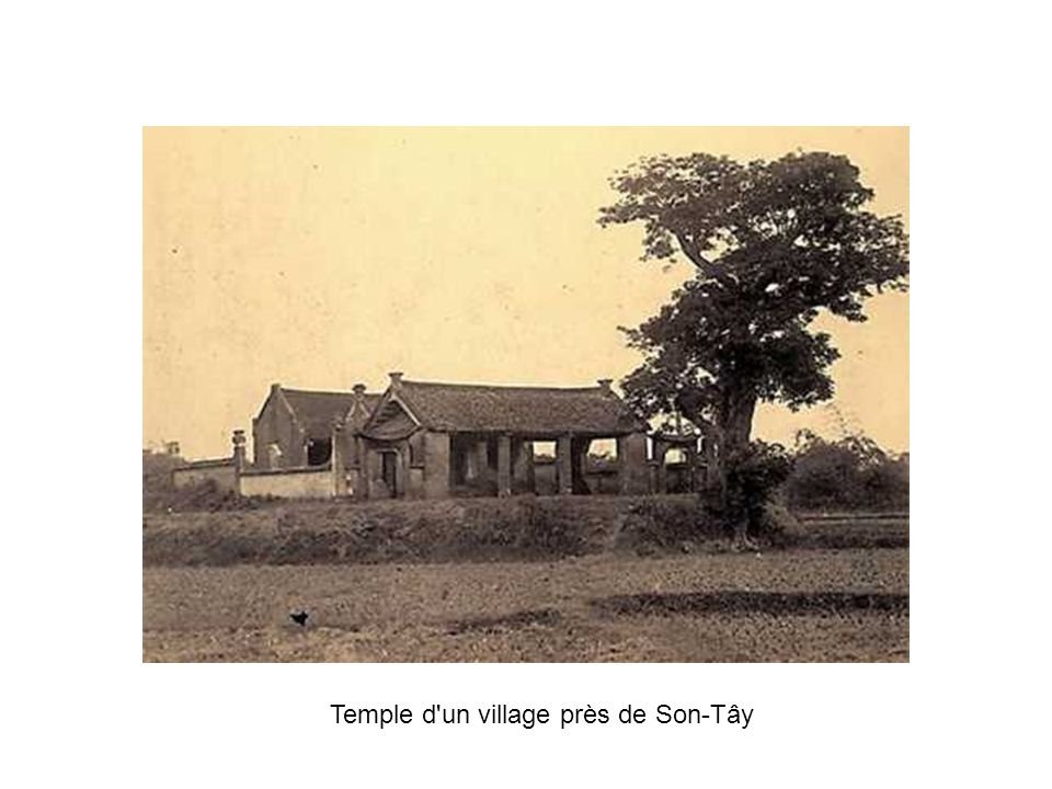 Temple d un village près de Son-Tây