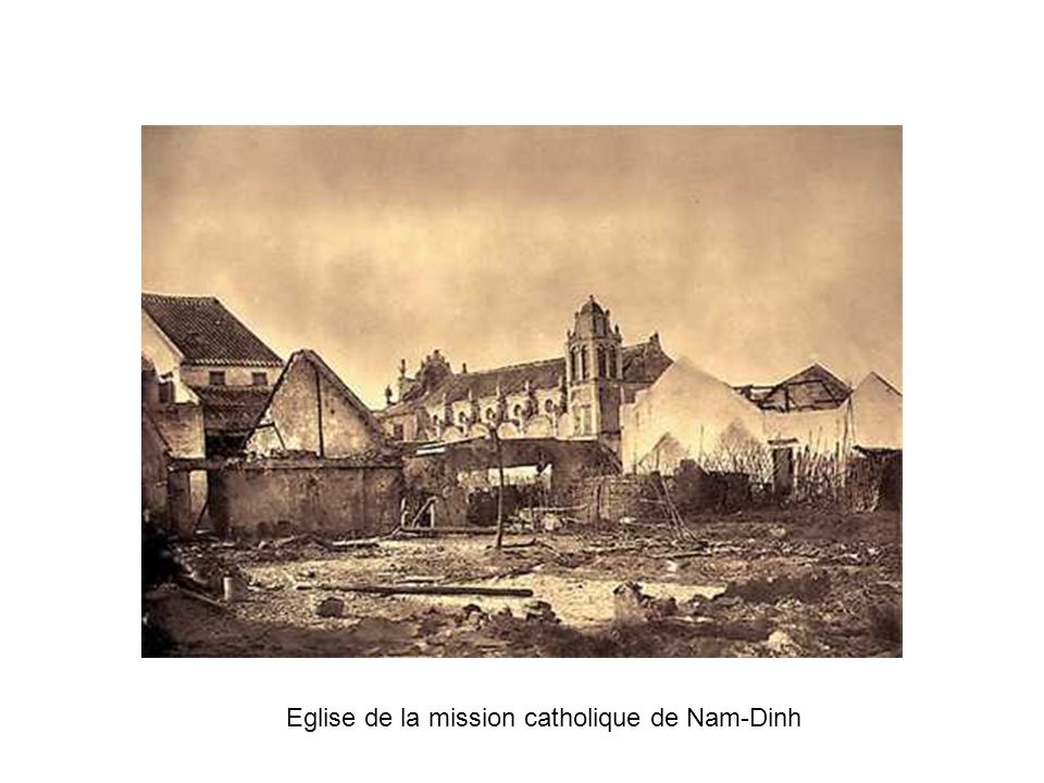 Eglise de la mission catholique de Nam-Dinh