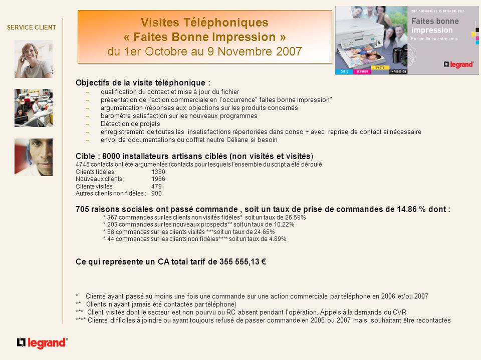 Objectifs de la visite t l phonique ppt t l charger for Chambre commerciale 13 octobre 1992