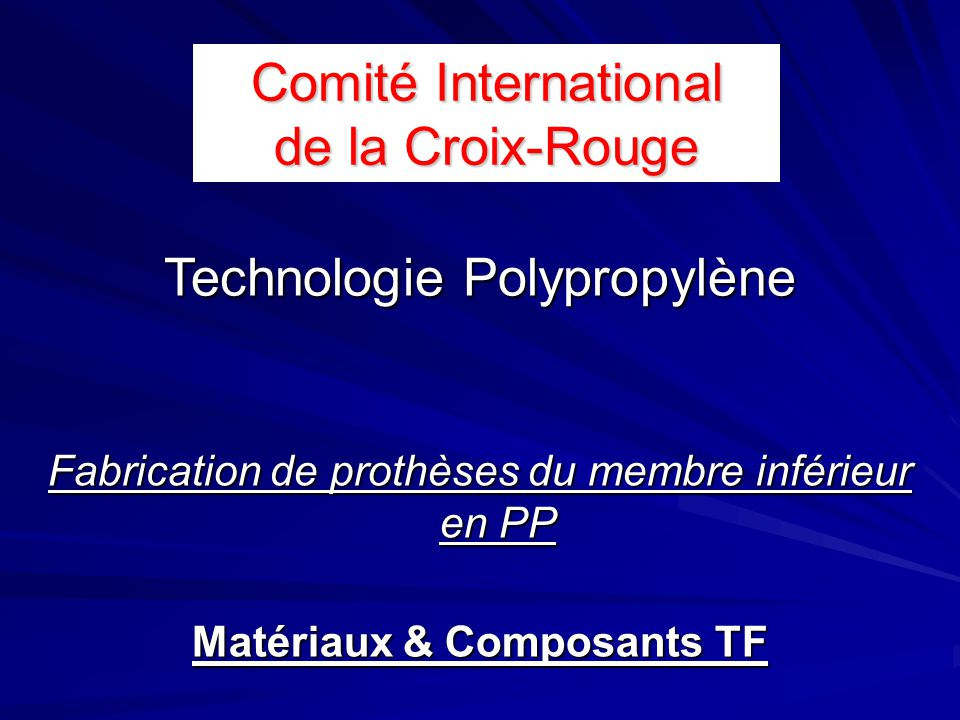 Comité International de la Croix-Rouge
