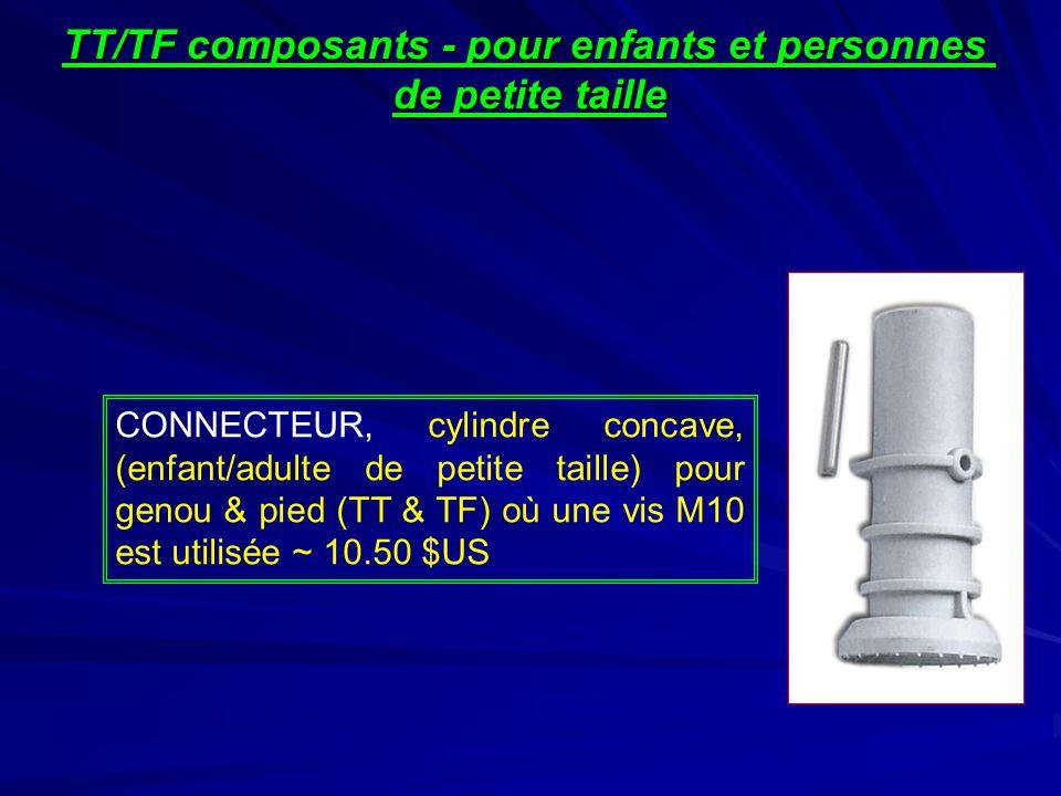 TT/TF composants - pour enfants et personnes
