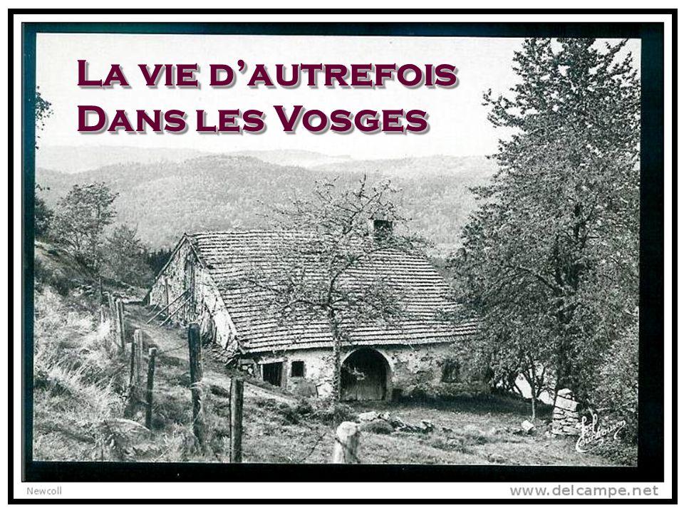 La vie d'autrefois Dans les Vosges. - ppt télécharger