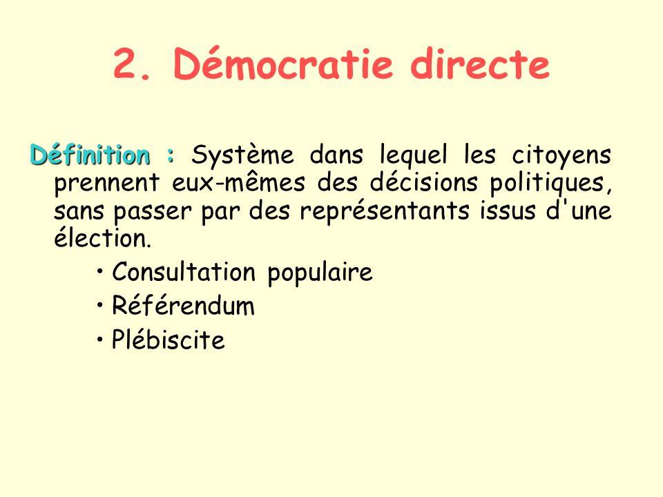 Citaten Democratie Directe : La démocratie et ses formes ppt video online télécharger