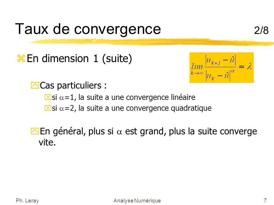 Convergence d'une suite, suite convergente - exercices ...