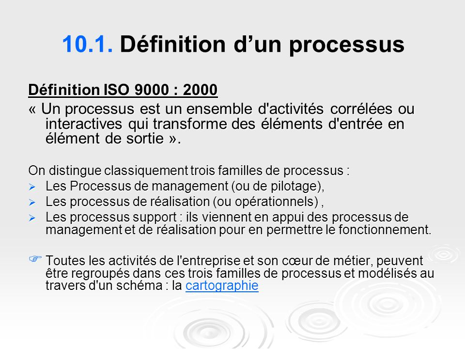 10.1. Définition d'un processus