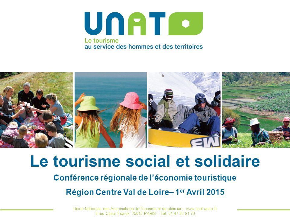Le tourisme social et solidaire ppt t l charger - Chambre regionale de l economie sociale et solidaire ...