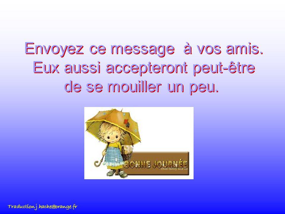 Envoyez ce message à vos amis