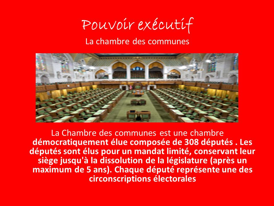 Le gouvernement ppt video online t l charger for Chambre des communes