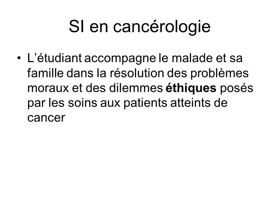 SI en cancérologie