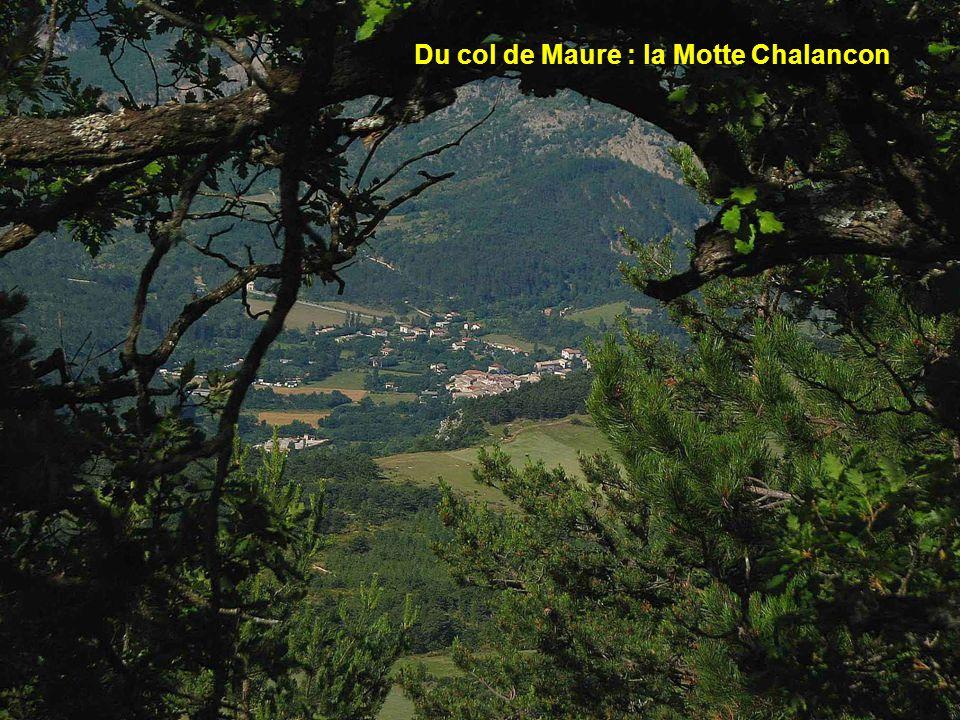 Du col de Maure : la Motte Chalancon