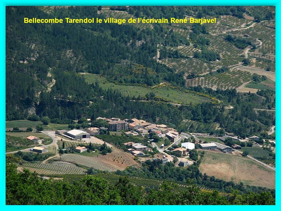 Bellecombe Tarendol le village de l'écrivain René Barjavel