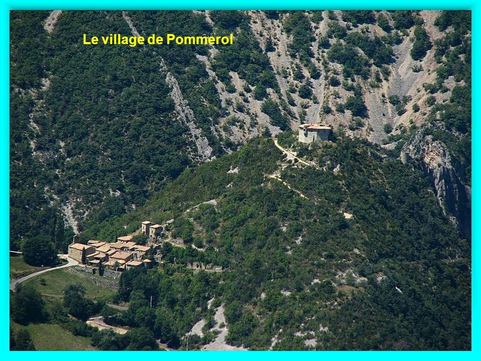 Le village de Pommerol