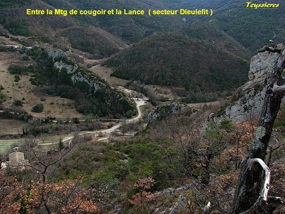 Entre la Mtg de cougoir et la Lance ( secteur Dieulefit )