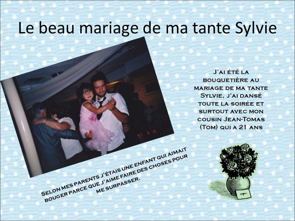 Le beau mariage de ma tante Sylvie
