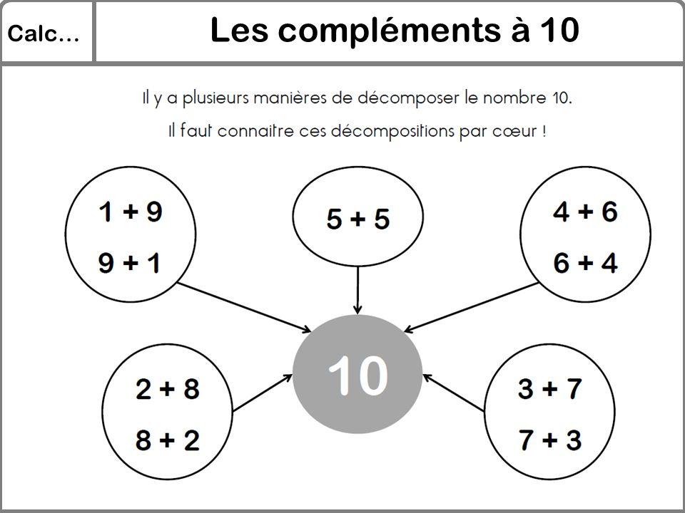 Les compléments à 10 Calc…