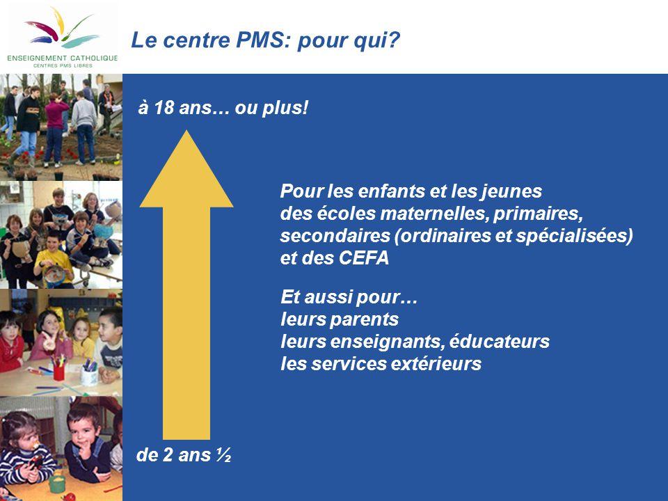 Le centre PMS: pour qui à 18 ans… ou plus!
