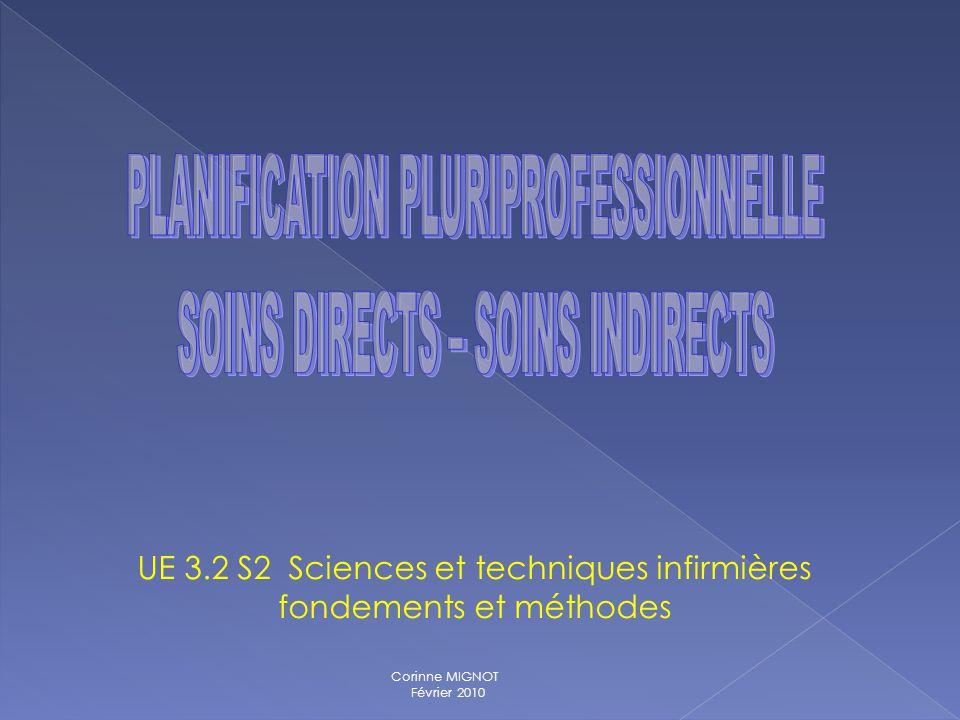 UE 3.2 S2 Sciences et techniques infirmières fondements et méthodes