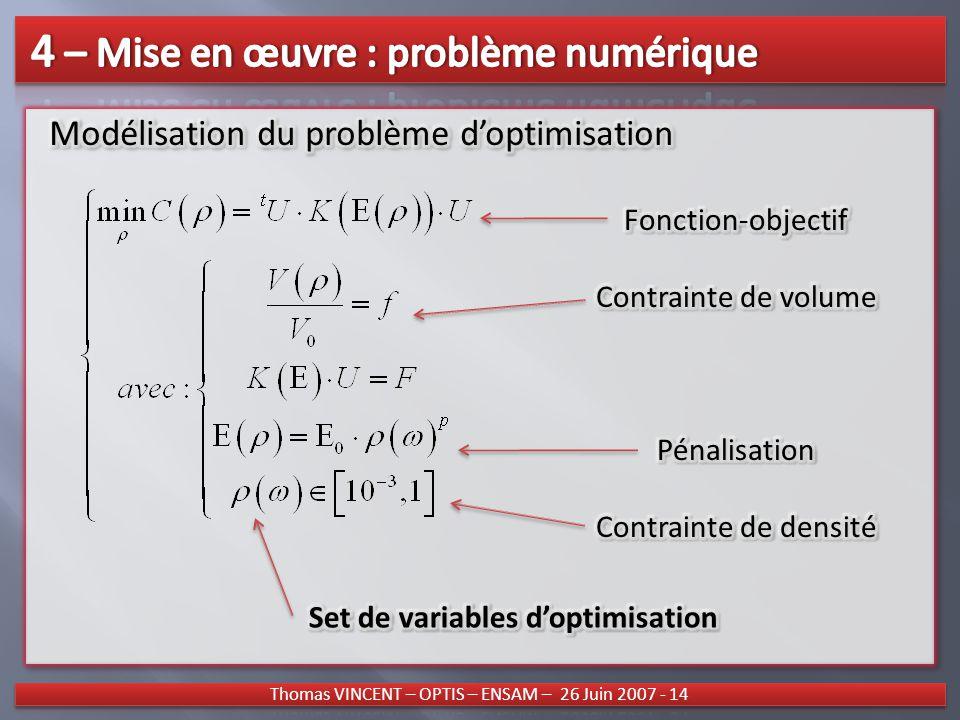 fonction objectif optimisation