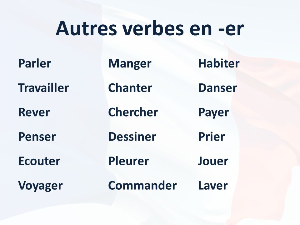 Easy french conversation ppt t l charger for Portent verbe
