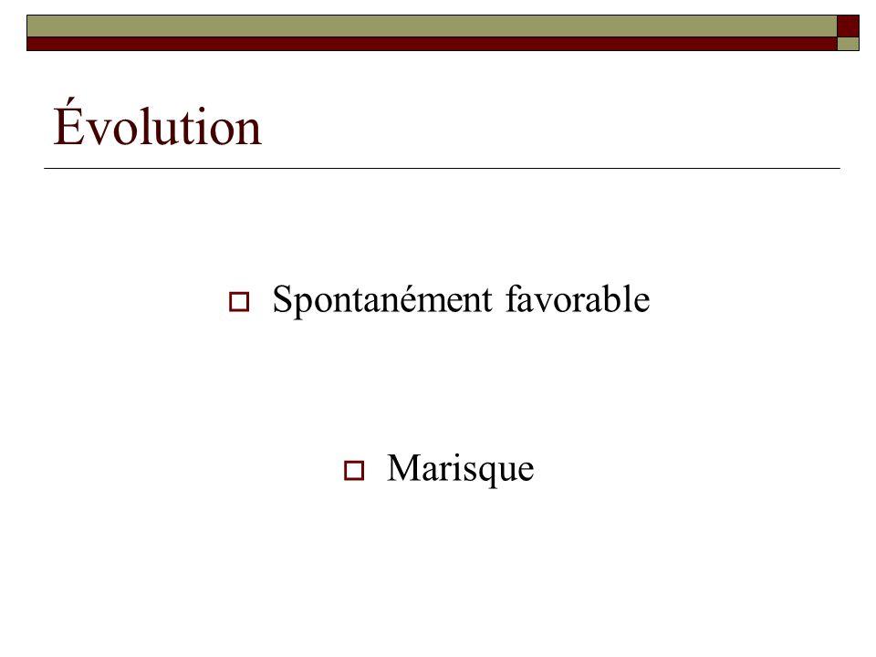 Spontanément favorable